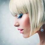Аватар Девушка-блондинка в профиль