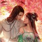 Аватар Влюбленные стоят под весенними деревьями, by Da congjun