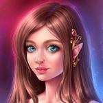 Аватар Девушка эльфийка с украшением