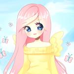 Аватар Девушка с крылышками