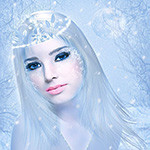 Аватар Девушка с голубыми глазами
