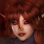 Аватар Эльфийка с рыжими волосами