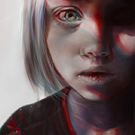 Аватар Рисунок маленькой девочки, by Elena Sai