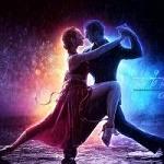 Аватар Парень с девушкой танцуют танго под дождем, by SummerDreams-Art