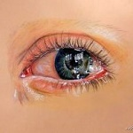 Аватар Глаз со слезой в нем, by xxMagicGlowxx