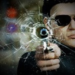 Аватар Мужчина с оружием в руке
