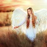 Аватар Девушка - ангел стоит в поле, фотограф Ольга Бойко