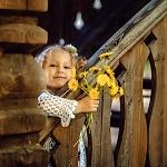 Аватар Девочка с букетом одуванчиков, фотограф Ирина Михайлова