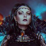 Аватар Девушка, одетая в черную одежду, by Nikulina-Helena