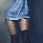 Аватар Ножки девушки в черных чулках