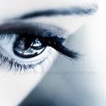 Аватар Грустный глаз девушки