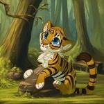 Аватар Тигренок в лесу