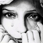 Аватар Портрет плачущей девушки
