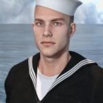 Аватар Моряк на фоне моря