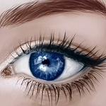 Аватар Голубой глаз девушки