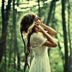 Аватар Девушка на фоне леса