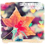Аватар Бабочка на осеннем кленовом листе, (Falling leaves / Падающие листья)