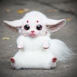 Аватар Игрушка маленького белого пикачу