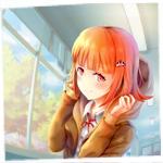 Аватар Девушка в коридоре школы