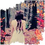 Аватар Девушка идет в осенний лес (Осень)