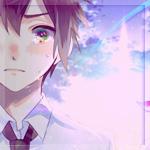 Аватар Таки Татибана / Tachibana Taki из аниме Твое имя / Your Name. / Kimi no Na wa