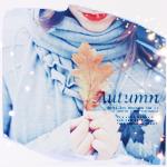 Аватар Девушка держит в руках дубовый лист (Autumn / Осень)