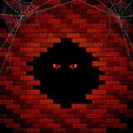 Аватар Красные глаза смотрят из проема в стене