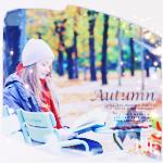 Аватар Девушка читает книгу в осеннем парке (Autumn / Осень)