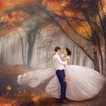 Аватар Влюбленные в осеннем парке