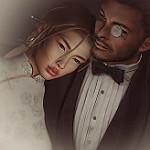 Аватар Девушка положила голову на плечо парню