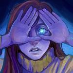 Аватар Испуганная Mabel Pines / Мэйбл Пайнс прикрыла лицо руками из мультсериала Gravity Falls / Гравити Фолз (Babump)