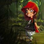 Аватар Красная шапочка несет пирожки для бабушки