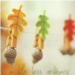 Аватар Желуди с листиками на прищепках (a life less ordinary / жизнь хуже обычной)
