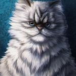 99px.ru аватар Рисованный кот, by Kris Lewis