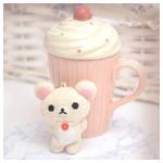 Аватар Игрушечный медвежонок Korillakuma / Кориллакума и чашка