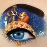 Аватар Оригинальный макияж глаза со щенками на веке, by scarlet-moon1