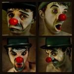 Аватар Серия из четырех рисунков эмоциональной мимики лица клоуна, by Amelies Welt