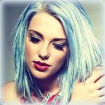 Аватар Девушка с голубыми волосами