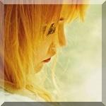 Аватар Девушка - блондинка в профиль