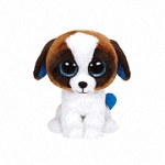 Аватар Забавный щенок на белом фоне