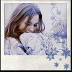 Аватар Девушка в теплом вязаном свитере