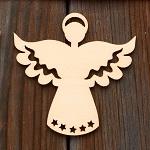 Аватар Белый ангел на деревянной поверхности
