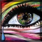 Аватар Глаз девушки со слезой