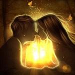 Аватар Мальчик целует девочку, by GORI89