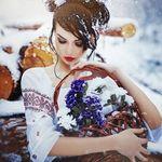 Аватар Девушка с корзиной цветов, фотограф Алексей Вирусян
