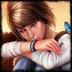 Аватар Плачущая Максин Колфилд / Maxine Caulfield, более известная как Макс / Max — главная героиня игры Life is Strange / Жизнь – странная штука, с голубой бабочкой на плече