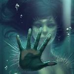 Аватар Девушка - мутант под водой, by whmurai