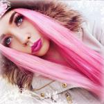 99px.ru аватар Девушка с розовыми волосами в куртке