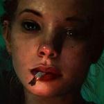 Аватар Девушка с сигаретой во рту