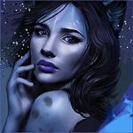 Аватар Темноволосая девушка - кошка, by Aitsena